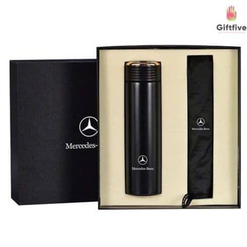 black-vacuum-flask-set